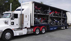 Interstate motorcycle transport, motorbike shipping